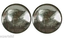 """NEW PAIR OF LE MANS 24H 7"""" INCH HEADLAMPS PF700 JAGUAR HEALEY MG TR"""