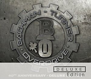Bachman-Turner Overdrive - 40th Anniversary Deluxe Edition 2CD NEW/SEALED