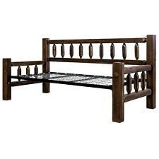 Amish Made Day Beds Farmhouse Solid Pine Wood Daybeds Rustic Sofa Twin