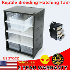 New listing Reptile Breeding Tank For Insect Spider Turtle Cage Pet Feeding Box Top Quality