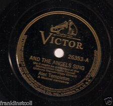 Alec Templeton on 78 rpm Victor 26353: And the Angels Sing/Star Dust
