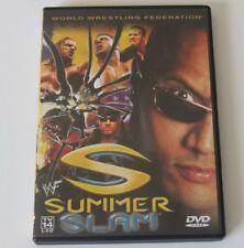 WWF Summerslam 2000 (WWE DVD, 2000) Triple H Kurt Angle Rock OOP MINT!! RARE