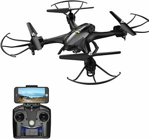 Holy Stone HS200 FPV RC Drone with HD Wifi Camera BLACK