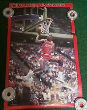 Michael Jordan 1988 Starline Poster Rare Vintage Chicago Bulls