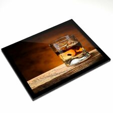 Mantel Individual De Cristal 20x25 Cm-vasos de beber whisky Whisky Alcohol #16211