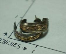 "Vintage JJ Sterling Earrings (Hallmark ""JJ 1/2012KGF Sterling"")"