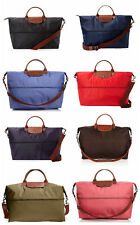 NEW Longchamp Le Pliage Expandable Travel Weekender LOTS OF COLORS AUTHENTIC!!