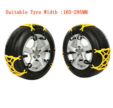 New 6PCS Thick Tendon Emergency Thickening Snow Anti-skid Tire Chains of Car SUV
