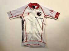 XS Women's International Liars Club Hincapie Short Sleeve Cycling Jersey Whit/Rd