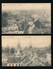Belgium Hainaut COMINES (Nord) x2 c1900/10s? PPCs local pub J Taillieu