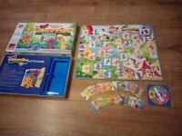 Vintage MB Disney The Wuzzles Lotto Board Game 1985 - Complete - Kids Game - VGC