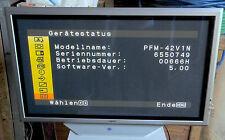 """Sony PFM-42V1N Plasma Präsentation Display Bildschirm 42"""" nahezu neu!!!"""