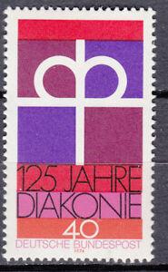 BRD 1974 Mi. Nr. 810 Postfrisch mit Druckauffälligkeit 40 mit versatz (29940)