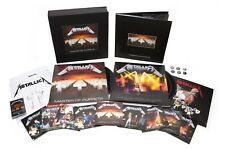 METALLICA Master of Puppets Remastered Deluxe Boxset PREORDER New Vinyl LP CD
