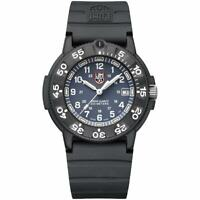 Luminox Men's Watch Navy Seal Swiss Quartz Blue Dial Black Strap 3002.NSF