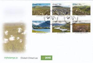 (17473) Ireland FDC National Parks 2011