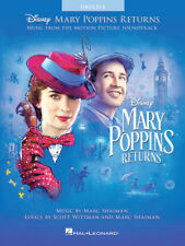 """Mary Poppins Returns"" Ukulele Music Book-Brand New On Sale Uke Songbook-Movie!"