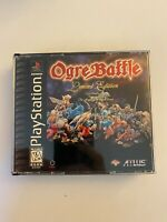 Ogre Battle: Limited Edition Sony PlayStation PS1 Complete