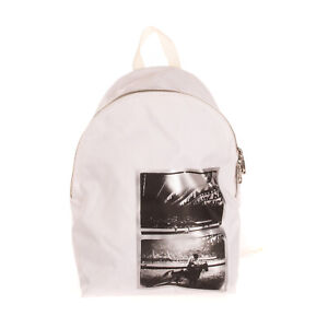 CALVIN KLEIN JEANS X ANDY WARHOL Backpack Coated Front Embroidered Straps Zipped