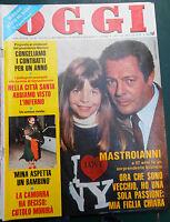 OGGI 39/1981MINA MASTROIANNI CUTOLO MONTALE SORGE DEREK FENECH WOJTYLA IGLESIAS