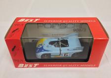 Porsche 908/3 Imola 1972 R.Jost  9057 1/43 Best Model Made in Italy