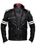 Alex Mercer Prototype Dragon Leather Jacket, Basic Jacket, Black