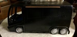 Barbie's Jam N Glam Tour Bus transformed into a realistic Touring Van/Stage