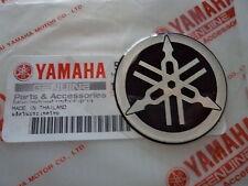 1 X YAMAHA TUNING FORK R1 R6 R7 DOMED EPOXY RESIN LOGO EMBLEM STICKER DECAL 40mm