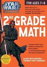 Star Wars Workbook: 2nd Grade Math Star Wars Workbooks