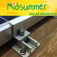 Channel Bracket Mount for Solar PV Panel Mounting to Metal/Wood - 100W 150W 250W