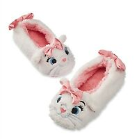 Disney Store Slippers Marie Aristocats Cat Plush Costume Dress Up Girl Shoes