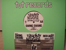 """NAUGHTY BY NATURE + QUEEN LATIFAH - SWING SWANG / RED LIGHT (12"""")  2002!!!  RARE"""