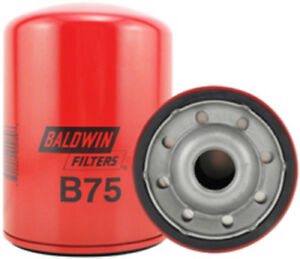 Engine Oil Filter Baldwin B75 ( PACK OF 6 )