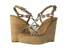 Coach Georgiana Wedge Sandals Size 8 $178