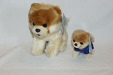 "GUND Soft Toy Pomeranian Dog ""The World's Cutest Dog"" - Large & Jogging Boo bnwt"