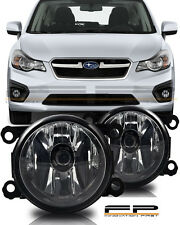 For 2012 2013 2014 2015 Subaru Impreza XV Crosstrek Fog Light Clear Complete Kit