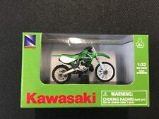 KAWASAKI KX250 DIE-CAST SCALE MODEL 1:32 TOY COLLECTABLE MOTOCROSS DIRTBIKE