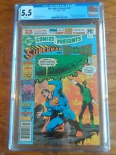DC Comics Presents 26  CGC 5.5     First Appearance New Teen Titans