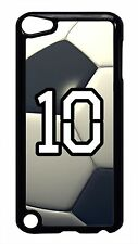 Soccer Ball Personalized Number Case Cover for iPod 4 5 5th Touch Generation