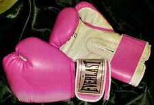 Everlast Boxing Gloves Advanced Training Boxing MMA Pink 12 oz NEVER USED Womens