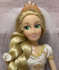 "Disney Parks, Rapunzel, Tangled, 12"", Posable, Doll, Princess, Wedding, HTF"