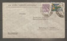 LETTRE BRAZIL 1935 COVER TO GERMANY VIA CONDOR LUFTHANSA AIRMAIL