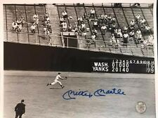 Mickey Mantle Signed 8x10 Photo Autographed HOF