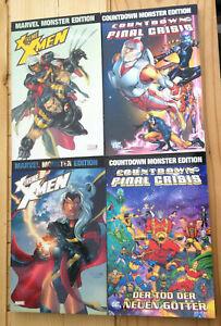 Marvel Monster Edition Xtreme XMen 1 + 2 Countdown zur Final Crisis 4 x SC