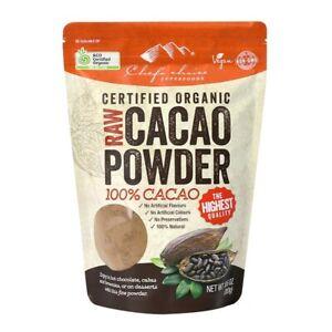 1 x 300g Chef's Choice Organic Raw Cacao Powder 100% Cacao-Bulk Discount Offer