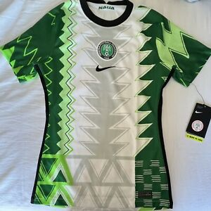 Nike Nigeria National Team Womens Home Soccer Jersey. Womens Size: XS.S.M