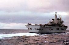 Royal Navy HMS Invincible Falklands War 1982, 7x5 inch reprint photo