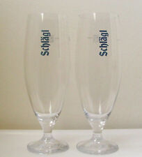 SCHLAGL Austrian Abbey CHALICE BEER Glasses/PAIR