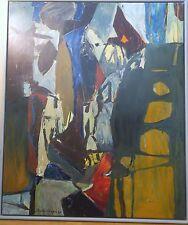 Niklas Anderberg huile sur toile 1990 Paris Suède