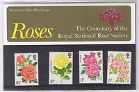 GB Presentation Pack 81 1976 Roses
